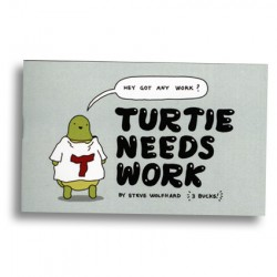 Turtie Needs Work by Steve Wolfhard