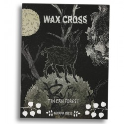 Wax Cross by Tin Can Forest